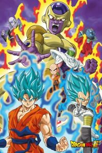Dragon Ball Z DBZ Poster Dragonball Super God Super 61x91.5cm