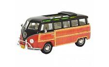 "#450894300 - Schuco VW T1 Samba ""Woody"" braun-rot - 1:43"