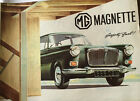 MG Magnette Brochure/Poster UK Text Good Condition