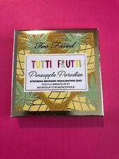 New Too Faced Furit Cocktail Pineapple Paradise highlight duo Nib