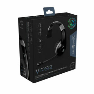STEALTH  VIPER CHAT  MONO GAMING  HEADSET  WITH BOOM MIC