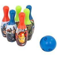Marvel Avengers Bowling Set, - Super-Powered Bowling Fun