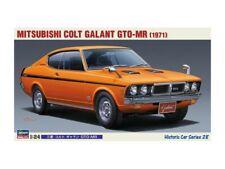 HASEGAWA 1/24 MITSUBISHI COLT GALANT GTO-MR 1971 SCATOLA DI MONTAGGIO