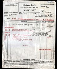 "PARIS (XVI°) PRODUITS de BEAUTE / COSMETIQUE ""BARBARA GOULD"" en 1951"