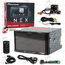 "PIONEER CAR 2DIN 7"" LCD DIGITAL MEDIA BLUETOOTH RECEIVER FREE 170° BACKUP CAMERA"
