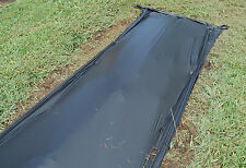 Photo Degradable Black Plastic Mulch 0.6 mil Embossed 4 ft x 6000 ft Cucumbers