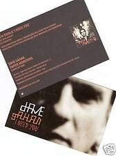 Dave Gahan - I need You  UK 2x PROMO Postkarten > Depeche Mode