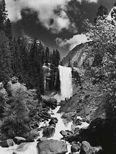 BLACK AND WHITE Yosemite National Park CASCATA Arte Foto Stampa Foto di scena