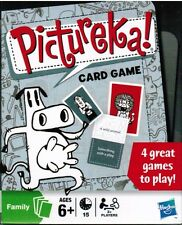 Pictureka! Card Game Four 2008 Hasbro Family Travel Games Boys Girls Ages 6+