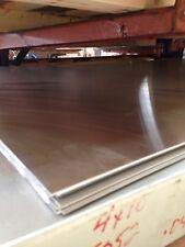 Aluminum Sheet Plate 050 X 36 X 48 Alloy 5052