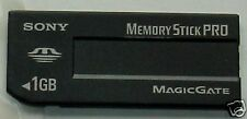 NEW SONY 1GB Memory Stick MSX-1GS AUTHENTIC MagicGate