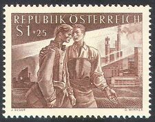 Austria 1955 Prisoners/War/POW/WWII/Military/Factory/Industry/Worker 1v (n33749)