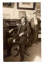 MN - EAGLE BEND MINNESOTA RPPC Postcard 1ST STATE BANK JOHN H E WALSETH