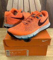 Men's Nike Zoom Terra Kiger 4 Trail Running Shoes Orange Size 7.5 - 880563 800