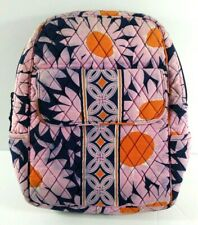 Vera Bradley Backpack Loves Me Daisy Pink Blue Retired Pattern 14 x 11 Quilted