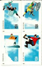Scott 3321-3324 33¢ Extreme Sports Free shipping in USA!