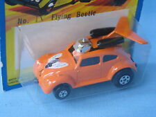 Matchbox Superfast Flying Beetle Flying Bug Orange USA Roman Numeral in BP 75mm