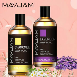 MAYJAM 100% Pure & Natural Aromatherapy Essential Oils for Diffuser (Lavender)