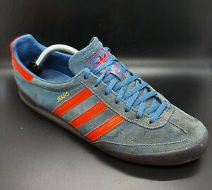 ADIDAS JEANS Trainers - Blue & Red Colourway - EUR 45.5 - UK Size 10.5