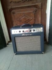 Ampeg J-20 Jet Blue Diamond Amp Hand-Wired Fender Brown Face Deluxe 6G3 circuit