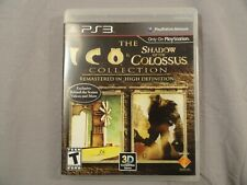 Ico & Shadow of the Colossus HD Collection (PlayStation 3 PS3) COMPLETE TESTED