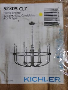 Kichler Lighting - 12 Light Chandelier - Chandelier 1 Tier Large - Capitol Hill