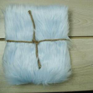 Baby Blue Faux Fur Photo Prop Newborn Nest Photography Blanket FREE SHIPPING!!!