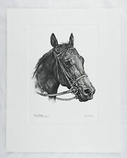 Vintage Fenelle Riva Ridge 1972 Kentucky Derby Winner Talio Chrome Print
