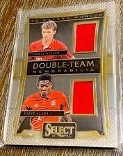 2016-17 Panini Select Soccer Double Team Memorabilia  Muller / Alaba