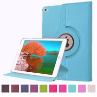 Rotating PU Leather Kickstand Protective Case Smart Cover For Apple iPad 2 3 4