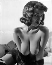 PDSN-0214 SCARCE VINTAGE 4X5 B/W 1950'S-1960'S NEGATIVE SWEET PINUP NUDE MODEL