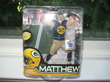MCFARLANE NFL 28 CLAY MATTHEWS COLLECTOR LEVEL CHASE VARIANT SILVER #616/900