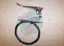 "New listing Chrome 7/8"" Lh brake lever & cable kit universal Mini Chopper, mini bike, custom"