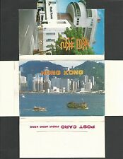 Ca 1975 Ppc Hong Kong Folder W/24 Pictures In Color, Mint