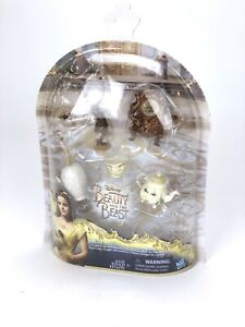 NEW Disney Beauty and the Beast Castle Friends Collection, Hasbro Figurines NIP!