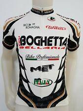 MAGLIA SHIRT CICLISMO CICLI BOGHETTA WILIER TAG.M/3 CYCLING ITALY MBK GIRO ES367
