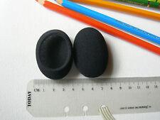 Coussinets de rechange en mousse p. oreillette casque ovale 54x43