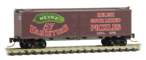 Micro-Trains MTL Z-Scale Heinz Series Car #11 - 36ft Wood Reefer Relish #2061