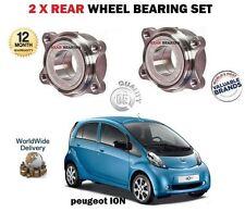 para Peugeot ION eléctrico 2010- > 2x Kit de rodamientos rueda trasera Set