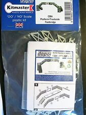 C004  DAPOL PLATFORM or TRACKSIDE FOOTBRIDGE KIT, UNPAINTED PLASTIC MODEL KIT