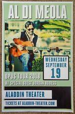 Al DiMeola 2018 Gig Poster Portland Oregon Concert