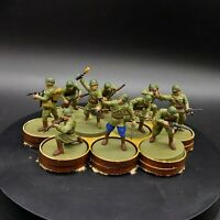 Painted 28mm Bolt Action Soviet Infantry squad #1 Ww2 Wargames factory