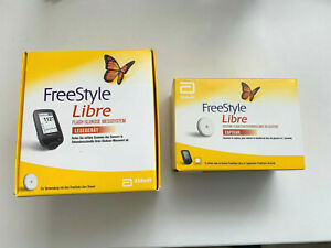 FreeStyle Libre mg/dl NEW Reader+ 1 NEW Sensor WORLDWIDE SHIPPING