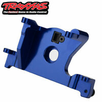 Traxxas 7460R Motor Mount 6061-T6 Aluminum (Blue-Anodized)