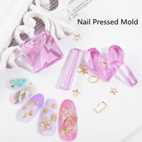 1Set Making Model Pressed Mould Nail Art Mold Manicure Arc Tool Slice Model  RHB