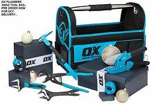 OX COMPLETE PLUMBERS PLUMBER TOOL KIT BAG TOOLS PROFESSIONAL TRADE ALL IN ONE