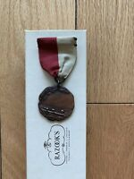 D&C Bronze A'S'C 1929 Medal Girls Swimming Jr Dieges & Clust Free Shipping