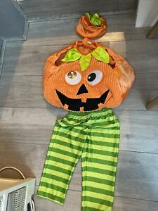 Pumpkin Halloween Costume Age 1-2 Years Tu