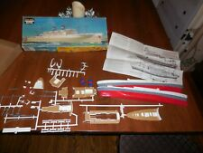 Vintage unbuilt Life- Like Hobby Kit: American President Liner Partially Painted