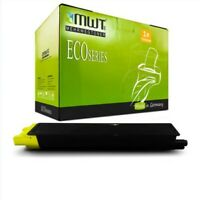 MWT Eco Cartridge Yellow For Kyocera Taskalfa 2550-ci
